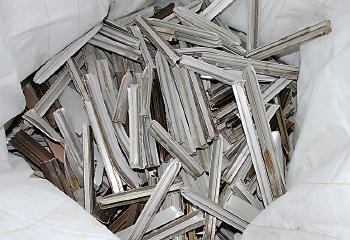 吉川金属商事 非鉄金属リサイクル工場 非鉄金属リサイクル工場技術 アルミサッシの再生