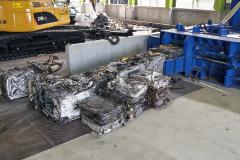 廃自動車リサイクル 自動車リサイクルシステム 鉄プレス